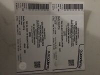 2 x tickets Cigarettes After Sex Brixton Academy standing tickets