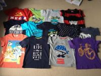 AGE 4- 5 - BOYS CLOTHING - 16 ITEMS!!!!!