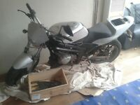 Rieju 125cc motorbike for spares or repairs.