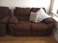 *DFS* Full recliner sofas x 2