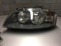 2004 Audi A3 headlamp unit passenger side (n/s)