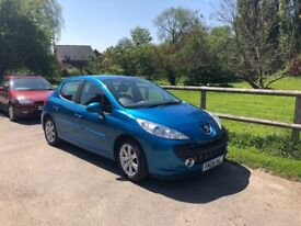 Peugeot 207 1.6 Automatic Sports Turquoise Blue 2008