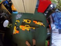 Nerf guns in great condition
