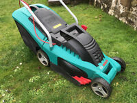 Electric Bosch Lawn mower for sale.