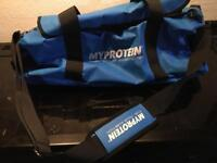 Large gym bag my protein