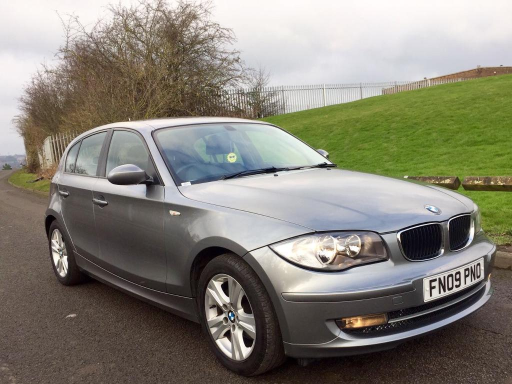 bmw 118d 2009 1 series diesel 5 door great spec not audi. Black Bedroom Furniture Sets. Home Design Ideas