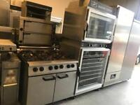 Commercial falcon gas cooker catering restaurant hotels pubs cafe equipments