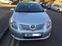 PCO TOYOTA AVENSIS CAR FOR SALE- 11 PLATE- DIESEL, 2.0, MANUAL
