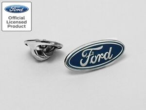 Richbrook Official Licensed Ford Logo Focus Fiesta Ka Mondeo Pin/Badge