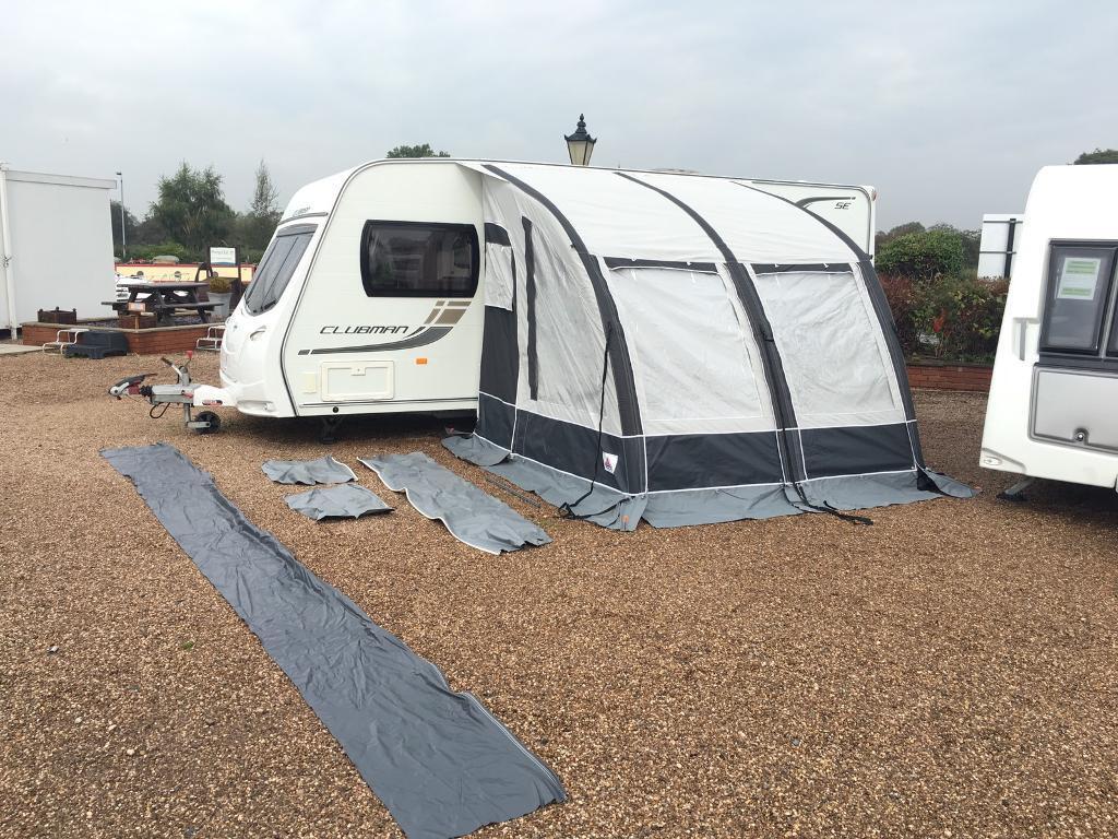 Dorema Magnum 260 Air porch awning for touring caravan ...