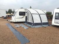 Dorema Magnum 260 Air porch awning for touring caravan