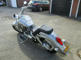 Honda VTX 1300 cruiser chopper, not a harley yamaha kawasaki suzuki. May PX or swap