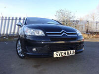 08 CITROEN C4 LOEB 1.6 HDI DIESEL COUPE,MOT MARCH 019,2 OWNERS,2 KEYS,PART HISTORY,STUNNING EXAMPLE