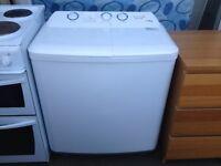 Qualtex twin tub washing machine with spin dryer model XPB70-8188S
