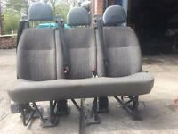 Ford transit crew cab 3seater with belts