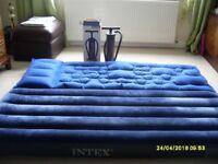 For Sale TWO Blow up beds and a hand pump in VGC