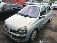 Renault, CLIO,AUTOMATIC, Hatchback, 2003, 1598 (cc), 5 doors