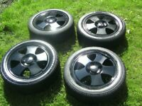 SET 4,GENUINE FORD FACTORY,4 STUD,4 X 108 PCD,14 INCH ALLOYS,CENTRES,GREAT 185/55/14 s