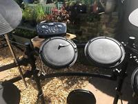 FAB electronic drum kit hardly used
