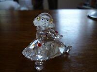 Swarovski crystal Sitting doll