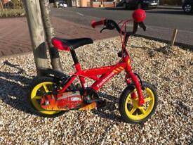 Kids fire rescue theme bike