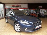 ~2013 13 VOLVO V40 1.6 D2 SE CROSS COUNTRY NAV ~1 OWNER~9 VOLVO STAMPS~CAMBELT CHANGED~VERY NICE CAR