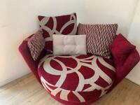 Fama Mynest circular swivel chair