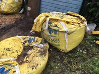 Building sand - 1 & a quarter bulk bags