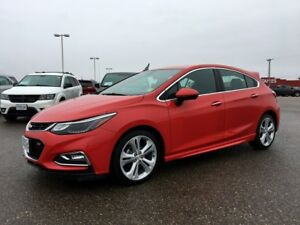 2018 Chevrolet Cruze Premier RS FWD *Wifi* *Projection* *Backup