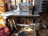 Singer straight stitch industrial sewing machine
