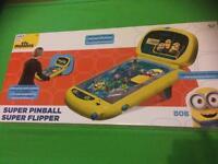 Minions pinball game despicable me