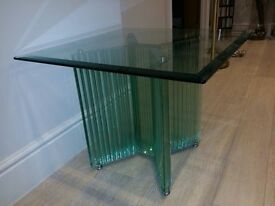 Solod Glass side table