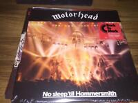 Motörhead-no sleep til Hammersmith-Sealed vinyl LP