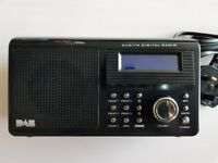 NELSON DAB/FM RADIO WITH CLOCK NE-3109 5 PRESETS