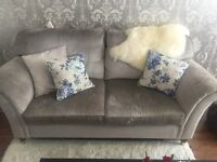 Laura Ashley Mortimer Fabric 2 seater sofa for sale- GREAT CONDITION