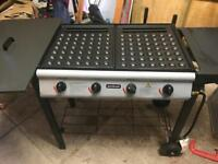 Poffertjes barbecue grill for Dutch pancakes