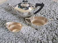 Silver plated Tea Set.