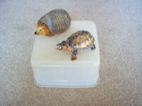 Used, Wade China Animal Trinket Box's x 2. for sale  Hove, East Sussex