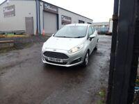 Ford, FIESTA, Hatchback, 2013, Manual, 1498 (cc), 5 doors