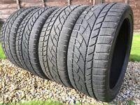 4 x 225/40R18 Jinyu Winter Tyres Good condition, no repairs