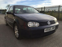 Volkswagen Golf 1.9 TDI PD GT 3dr (Blue) 2003