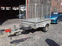 TRAILER 5 X 7 EXCELLENT CONDITION FULL CAGGED SIDES £600
