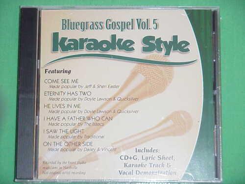 Bluegrass Gospel  Vol. #5  Christian  Daywind  Karaoke Style  CD+G  NEW  Karaoke