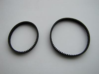 2 Geared Bissell Pro Heat 2X Belts Replace 2036804 2036688 PowerSteam PowerBrush