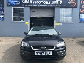 *WARRANTY* ONLY 55000 GENUINE MILEAGE AND FSH, 08 FOCUS ZETEC, CLIMATE, MOT FEB 2019, FULLY SERVICED