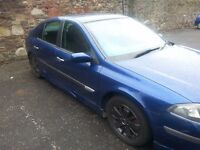LOW MILLAGE 06 PLATE LAGUNA FOR SALE
