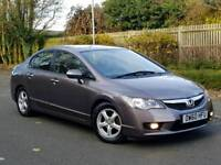 2010 HINDA CIVIC 1.4 HYBRID..AUTO..32000 MILES...FHSH...HPI CLR...PCO UBER APROVED
