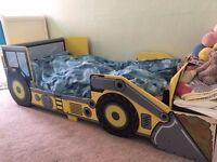 Toddler Digger theme bed