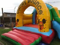 Bouncy castle and soft play items