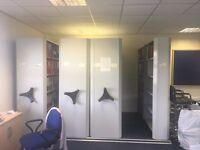 Mobile filing storage unit - URGENT SALE